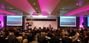 Alan Raymant, CEO of Bradwell B, speaking at NIA New Build Conference
